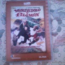 Cine: DVD LA GRAN AVENTURA DE MORTADELO Y FILEMON, DE JAVIER FESSER, CON BENITO POCINO Y PEPE VIYUELA. Lote 45118819