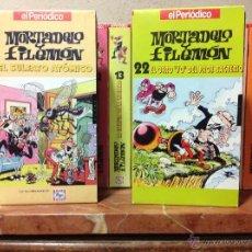 Cine: MORTADELO Y FILEMON COLECCION CINTAS VHS.. Lote 45123413