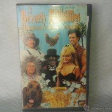 Cine: CINTA VHS-BERVERLY HILLBILLIES-BIEN DE VISIONADO. Lote 45137665