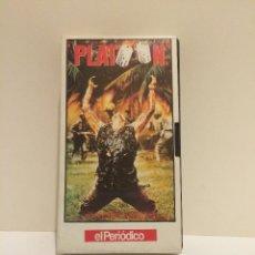 Cine: VHS PLATOON (OLIVER STONE). Lote 45149994