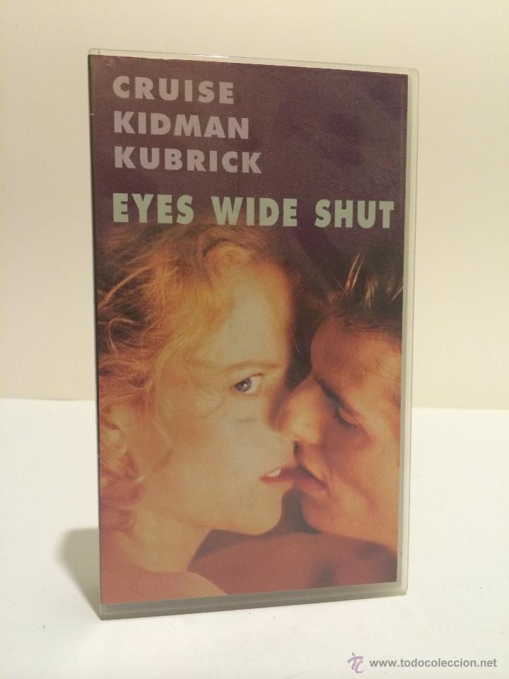 VHS EYES WIDE SHUT (NICOLE KIDMAN, TOM CRUISE, STANLEY KUBRICK) (Cine - Películas - VHS)