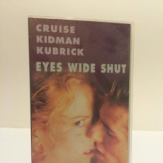 Cine: VHS EYES WIDE SHUT (NICOLE KIDMAN, TOM CRUISE, STANLEY KUBRICK). Lote 45150355