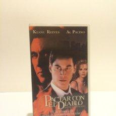 Cine: VHS PACTAR CON EL DIABLO (KEANU REEVES). Lote 45150363