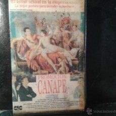 Cine: CINTA VHS - PROMOCIÓN CANAPE-- SIN DESPRECINTAR. Lote 45153495