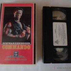Cine: VHS - COMANDO.. Lote 146141085