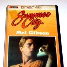 Cine: SUMMER CITY (1977) - CHRISTOPHER FRASER MEL GIBSON JOHN JARRATT PHIL AVALON VHS MUY RARA. Lote 45322763