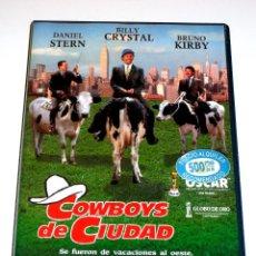 Cine: COWBOYS DE CIUDAD (1991) - RON UNDERWOOD BILLY CRYSTAL DANIEL STERN JACK PALANCE VHS 1ª EDICION. Lote 45396834