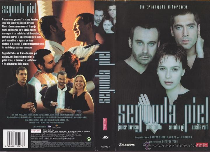 Vhs Segunda Piel Javier Bardem Jordi Mollà Sold Through