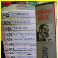 Cine: 13 VHS COMEDIA HERMANOS MARX, COLECCIÓN. . Lote 45722498