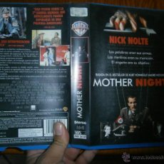 Cine: MOTHER NIGHT-VHS. Lote 45834785