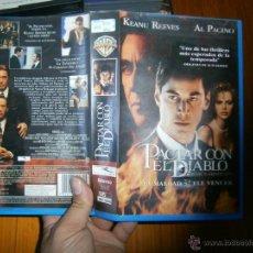 Cine: PACTAR CON EL DIABLO-VHS. Lote 45834891