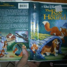 Cine: THE FOX AND HOUND-VHS. Lote 45835272