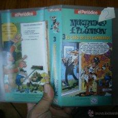 Cine: MORTADELO Y FILEMON.VHS PERIODICO. Lote 45835451