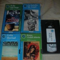 Cine: LOTE -VHS-DE CINCO PELICULAS,LAS CINE PELICULAS,DE NUESTRA VIDA.FILMAX.-FILMOTECA EL MUNDO-.. Lote 45885230