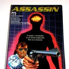 Cine: ASSASSIN (1986) - SANDOR STERN ROBERT CONRAD KAREN AUSTIN RICHARD YOUNG ROBERT WEBBER VHS. Lote 45896889