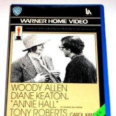 Cine: ANNIE HALL (1977) - WOODY ALLEN DIANE KEATON TONY ROBERTS CAROL KANE VHS 1ª EDICION. Lote 45918178
