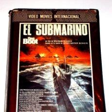 Cine: EL SUBMARINO (DAS BOOT) (1981) - WOLFGANG PETERSEN JURGEN PROCHNOW HERBERT GROMENEYER VHS 1ª EDICION. Lote 45918226