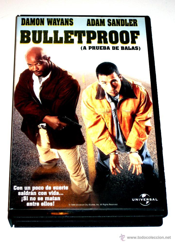 c6b436b7cb4e4 Bulletproof (A Prueba De Balas) (1996) - Adam Sandler Damon Wayans James  Caan VHS 1ª EDICION