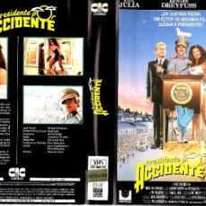 Cinéma: VHS\. PRESIDENTE POR ACCIDENTE. Lote 45979721