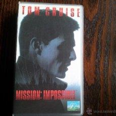Cine: MISIÓN IMPOSIBLE-VHS. Lote 45992694