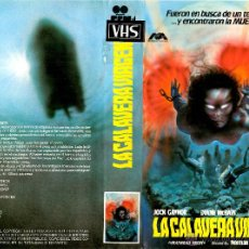 Cine: VHS\. LA CALAVERA VIRGEN. Lote 45995825