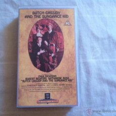 Cine: VHS BUTH CASSIDY AND THE SUNDANCE KID. Lote 46025790