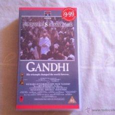 Cine: VHS GANDHI-PRECINTADA. Lote 46025878