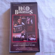 Cine: VHS THE HOUND OF THE BASKERVILLES. Lote 46026134