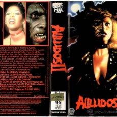 Cine: VHS\. AULLIDOS 2 (WEREWOLF BITCH) • LICANTROPOS HORROR MOVIE HOMBRES LOBOS • VHS + DVD GRATIS. Lote 46049978