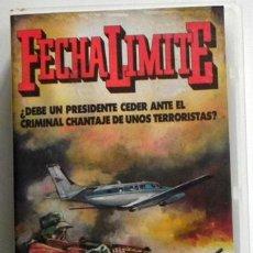 Cine: FECHA LÍMITE - PELÍCULA SUSPENSE - BARRY NEWMAN ARCH NICHOLSON - BOMBA ATÓMICA AUSTRALIA SIDNEY VHS. Lote 46236571