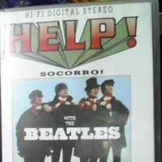 Cine: VHS HELP!, WITH THE BEATLES. Lote 46250595