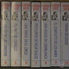 Cine: VHS COLECCION LOS HERMANOS MARX 13 CINTAS (LEER DESCRIPCIÓN). Lote 46286979