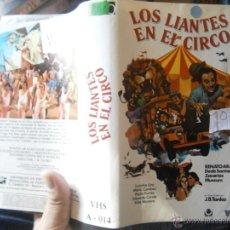 Cinema: LOS LIANTES EN EL CIRCO -VHS. Lote 46306333