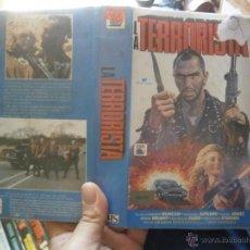 Cine: LA TERRORISTA -VHS. Lote 46306745