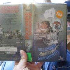 Cine: DICIEMBRE SANGRIENTO -VHS. Lote 46325829