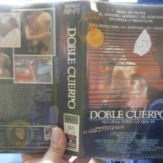 Cine: DOBLE CUERPO -VHS. Lote 46325861