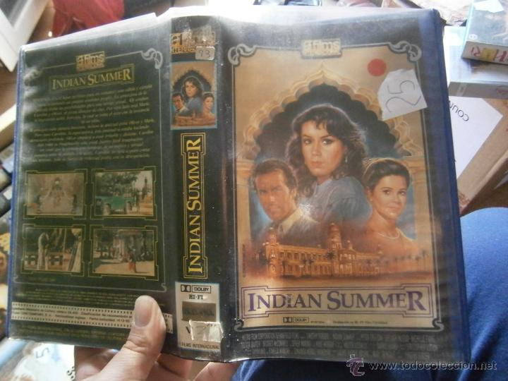INDIAN SUMMER-VHS (Cine - Películas - VHS)