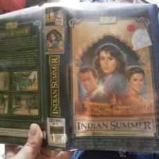 Cine: INDIAN SUMMER-VHS. Lote 46326188