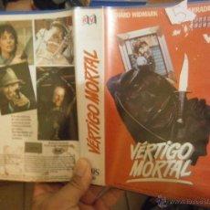 Cine: VERTIGO MORTAL-VHS. Lote 46326956