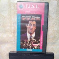 Cine: VENDO PELICULA VHS (F.I.S.T.), DE SYLVESTER STALLONE. Lote 46490421