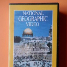 Cine: NATIONAL GEOGRAPHIC VIDEO. JERUSALÉN: ENTRE ESTOS MUROS - DIVERSOS AUTORES. Lote 46535187