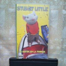 Cine: VENDO PELICULA VHS (STUART LITTLE, UN RATÓN EN LA FAMILIA).. Lote 263093585