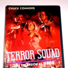 Cine: TERROR SQUAD (1988) - PETER MARIS CHUCK CONNORS BRODIE GREER BILL CALVERT VHS RARA. Lote 46584009