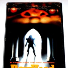 Cine: RAWHEAD REX (1986) - GEORGE PAVLOU CLIVE BARKER DAVID DUKES KELLY PIPER VHS. Lote 53351169