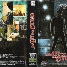 Cine: UNA LEY UNA CIUDAD (REGALO MONTAJE CON DVD). Lote 46734853