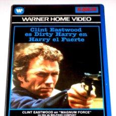 Cine: HARRY EL FUERTE (1973) - TED POST CLINT EASTWOOD HAL HOLBROOK MITCHELL RYAN DAVID SOUL VHS 1ª ED.. Lote 166656698