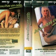 Cine: VHS\. JOVENCITAS EN C. DIR JAVIER BALCAZAR. RARISIMA DESCATALOGADA. Lote 46824982
