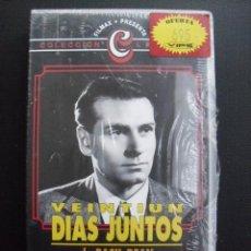 Cine: VENTIUN DIAS JUNTOS. BASIL DEAN, 1940. VHS, PRECINTADA.. Lote 46883853