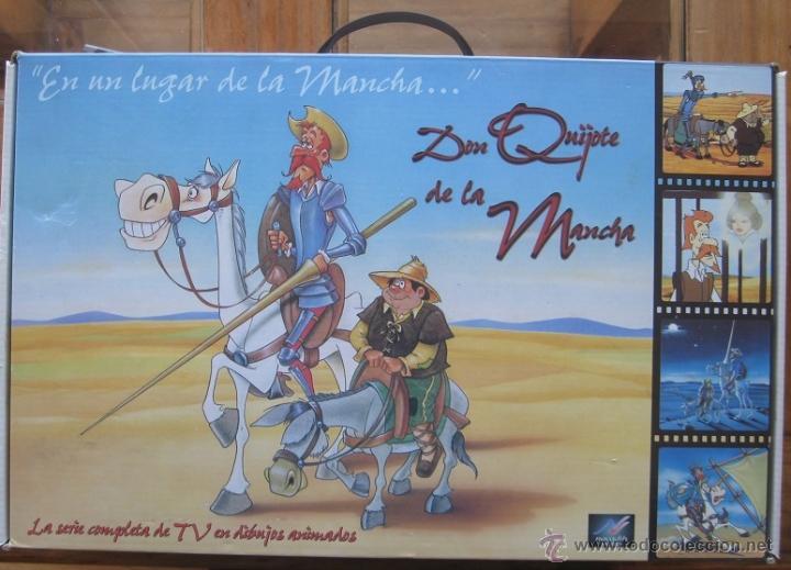 DON QUIJOTE DE LA MANCHA (CAJA ESTUCHE CON 18 CINTAS VHS-DIBUJOS ANIMADOS TVE) (Cine - Películas - VHS)
