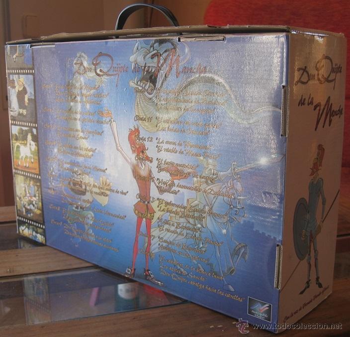 Cine: DON QUIJOTE DE LA MANCHA (CAJA ESTUCHE CON 18 CINTAS VHS-DIBUJOS ANIMADOS TVE) - Foto 3 - 46890075